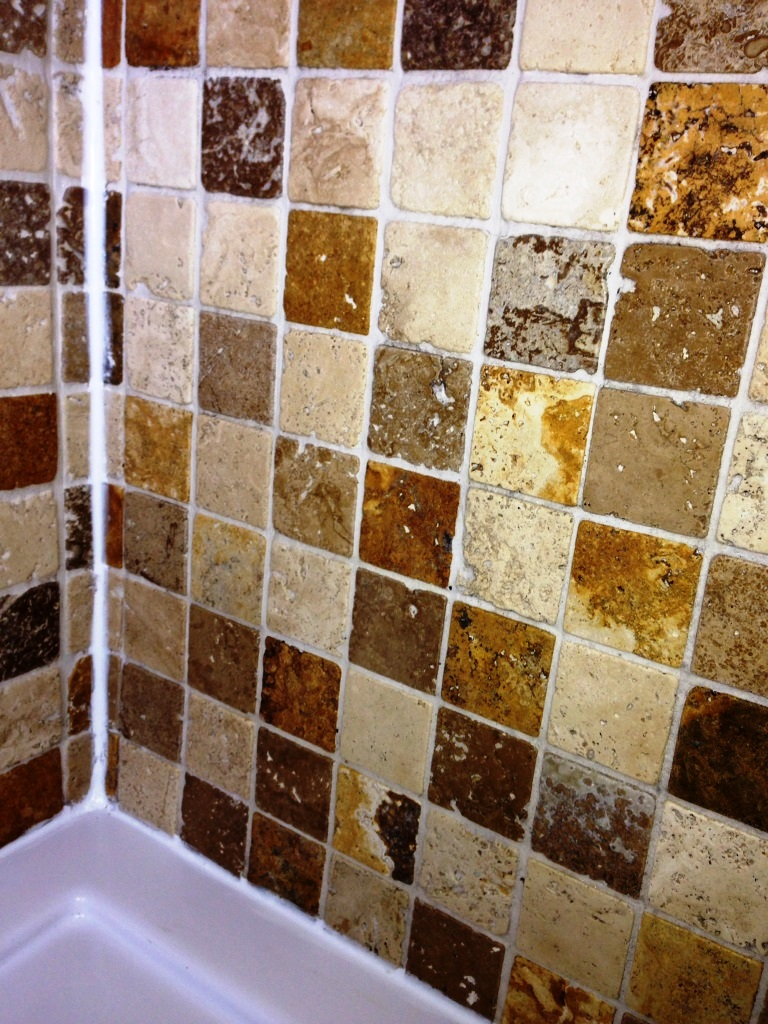 Travertine Bathroom ensuite After clean and seal Horsham