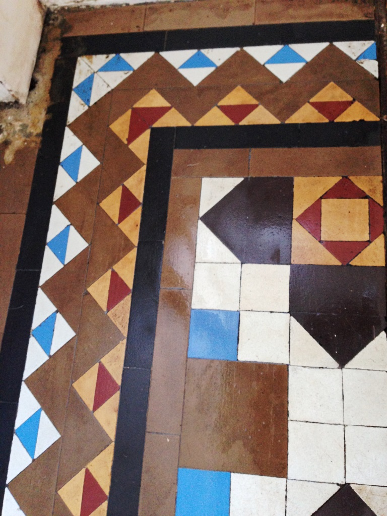 Victorian Tiles Goring by Sea After Renovation