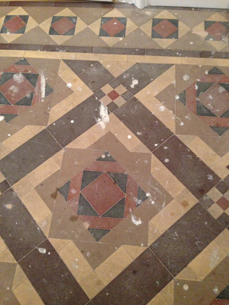Victorian floor tiles restored in eastbourne west sussex tile doctor victorian tiled floor before restoration eastbourne victorian tiled floor before restoration eastbourne doublecrazyfo Gallery